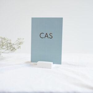Geboortekaartje Cas