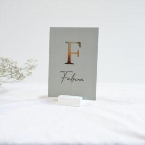 Geboortekaartje Fabian