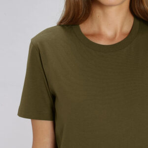 T-shirt met ronde hals Unisex - borstopdruk