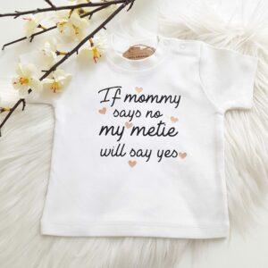 T-shirt 'eigen tekst'