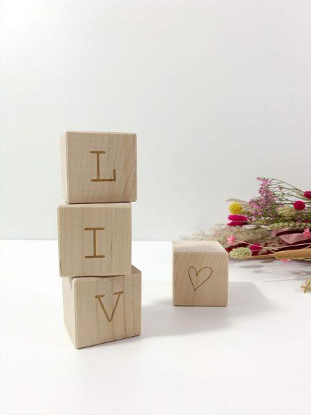KADECO houten letterblokken